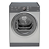 Hotpoint TVFS83CGG9 Vented Tumble Dryer with 8kg Load C Energy Rating in Graphite