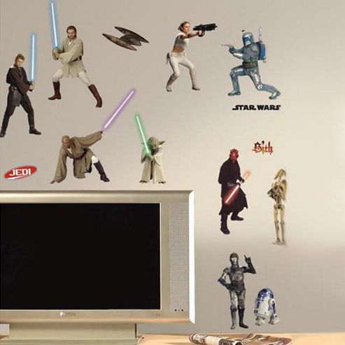 Star Wars Prequel Wall Stickers