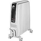 DeLonghi TRDS41025E 2.5kW Dragon 4 Oil Filled Radiator