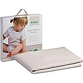 The Little Green Sheep Organic Cot/Cot Bed Mattress Protector - 60x120cm