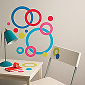 Concentric Cirles Wall Stickers