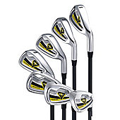 Young Gun Zaap Junior Kid Golf Club 6 Iron Right Hand Yellow Age 3-5