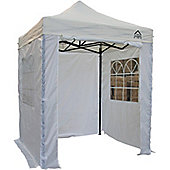 All Seasons Gazebos Heavy Duty, Fully Waterproof, 2m x 2m Standard Pop up Gazebo Package in White