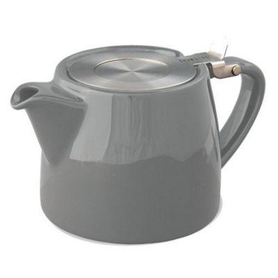 Forlife Stump Infuser Teapot 13oz in Grey
