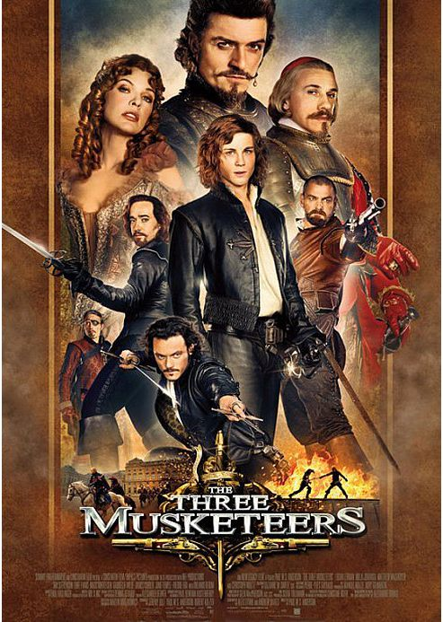 The Three Musketeers (3D Blu-Ray)
