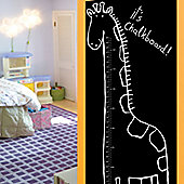 Giraffe Growth Chart Chalkboard