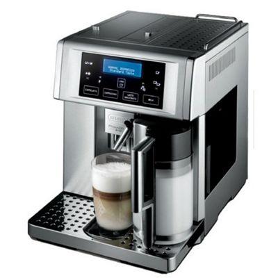 DeLonghi Patented Auto Bean to Cup Cappuccino Maker in Silver