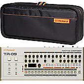 Roland TR-09 Rhythm Composer Drum Machine And CB-BRB1 Boutique Bag