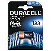 Duracell CR123 3V Lithium Camera Battery
