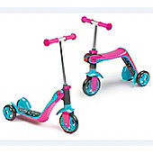 SMOBY Reversible 2 in 1 Scooter Pink
