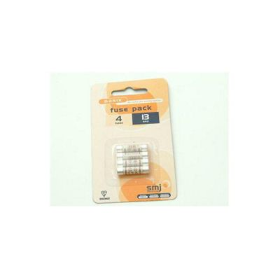SMJ 13 Amp Fuses (Pack of 4)