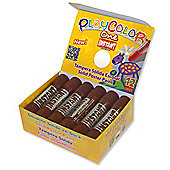 Playcolor Basic One 10g Solid Poster Paint Stick (Pack of 12 - Brown)