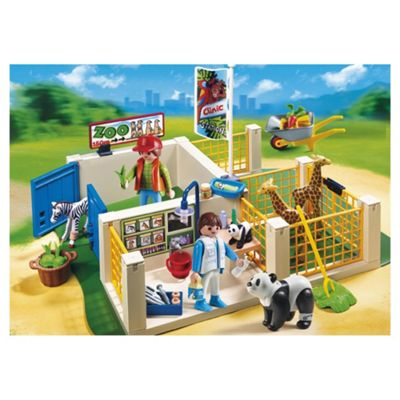 Playmobil 4009 Zoo Care Station Superset