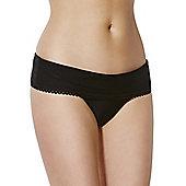 Curvy Kate Jetty Fold Over Bikini Briefs - Black