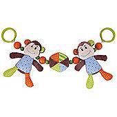 Bigjigs Toys Cheeky Monkey Pram String