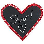 Happy Children's Chalkboard Heart