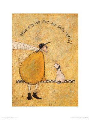 Sam Toft How Did We Get So Old Doris? Print 30 x 40cm