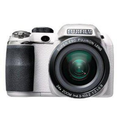 Fujifilm FinePix S4200 Digital Camera, White, 14MP, 24x Optical Zoom, 3.0 inch LCD Screen