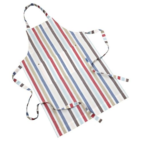 Jamie Oliver apron red stripe