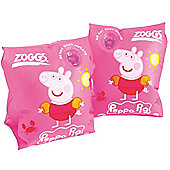 Zoggs Peppa Pig Junior Kids Inflatable Swimming Armbands - Pink