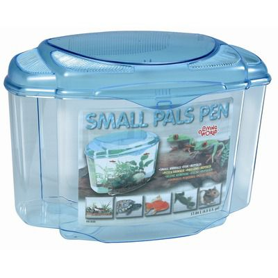 Hagen Small Pals Pen Blue/Green - Large