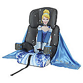 Cinderella High Back Booster Car Seat with harness, Group 1-2-3