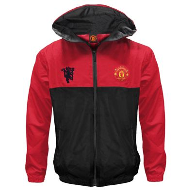 Manchester United FC Boys Shower Jacket 6-7 Years Small Boys