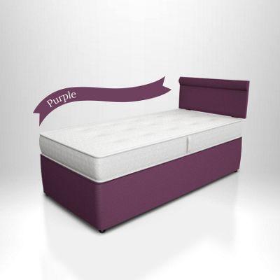 Potter Divan Bed Purple