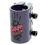 Slamm Quad Collar Clamp - Purple