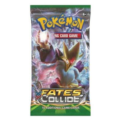 Pokemon Fates Collide Booster Packet Card Game (1 Pack)