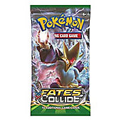 Pokemon Fates Collide Booster Packet Card Game, 10 Additional Cards