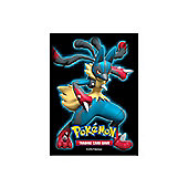 65 Pokemon Deck Protector Sleeves Mega Lucario - POK76012