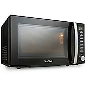 VonShef 800W 20L Black Digital Microwave