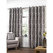Highgate Latte Eyelets Curtains - 46x90 Inches (117x229cm)