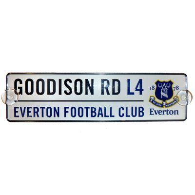 Everton FC 3D Window Street Sign