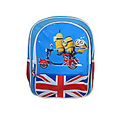 Character Minions Movie 'British Ride' With Pockets Backpack