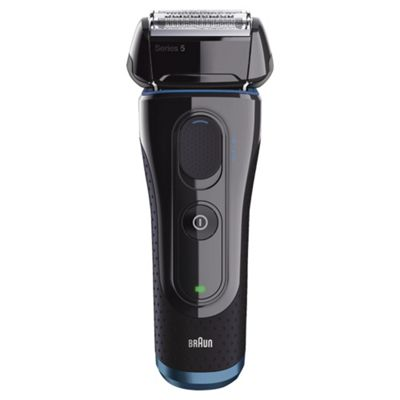 Braun 5040S Series 5 Mens Rechargeable Wet & Dry Foil Electric Shaver - Black
