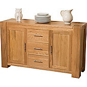 Kuba Chunky Solid Oak Large Sideboard