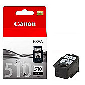Canon PG-510 Ink Cartridge for MP240/M260 Printers - Black