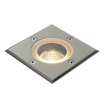 Stainless Steel Outdoor Wall Uplighter Driveway Square Walkover Lights