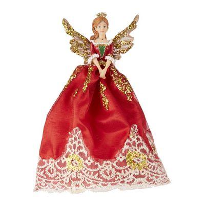 Traditional Nutcracker Fairy Christmas Tree Topper