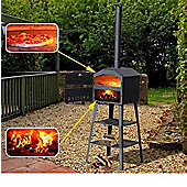 Outsunny Pizza Oven Barbecue Smoker