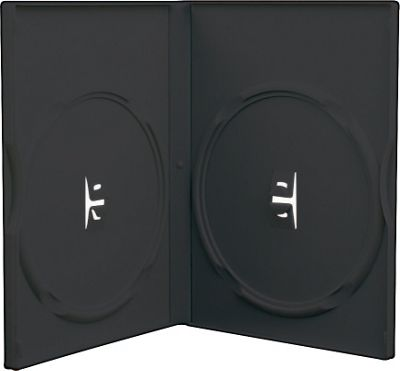 Slimline Double DVD Case 5 Pack