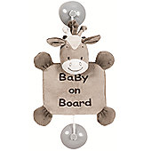 Nattou Baby on Board Sign - Noa the Horse