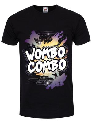Wombo Combo Men's T-shirt, Black.