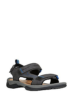 F&F Cork-Effect Walking Sandals - Grey
