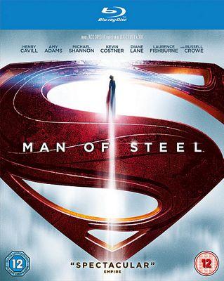 SUPERMAN: MAN OF STEEL BD