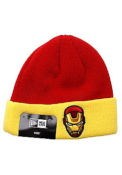 New Era Cap Co Infant Hero Cuff Beanie - Ironman - Red