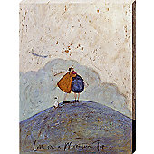 Sam Toft Love On A Mountain Top Canvas Print