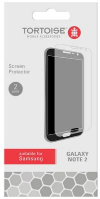 Tortoise™ Samsung Galaxy Note 2 Screen Protector Twin Pack
